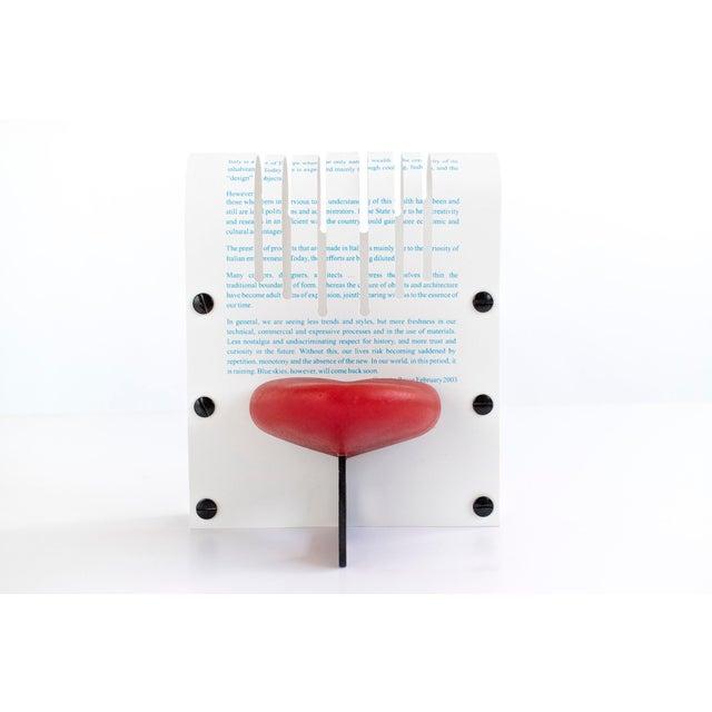 La Smorfia Chair Model, Italy c. 2003, Rubber, Printed Plastic.
