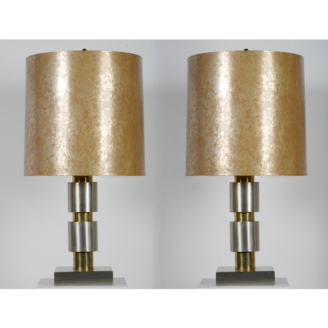 Pair of Important 1970s Table Lamps For Sale - Image 9 of 10