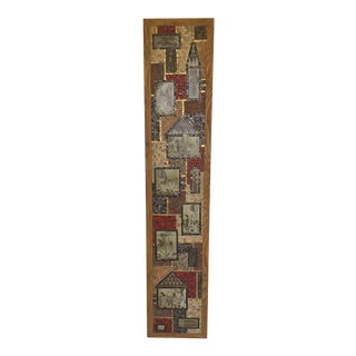 1950s Vintage Large David Holleman Mosaic Tile Wall Sculpture For Sale