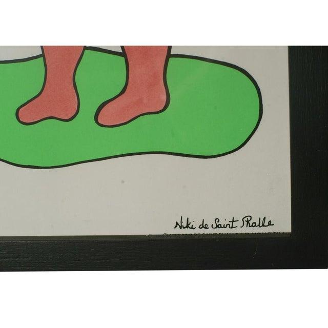 Pop Art Niki De Saint Phalle Lithograph For Sale - Image 3 of 4