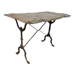 Slate Top Bistro Table