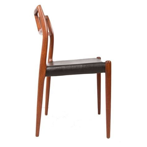 Niels Moller Danish Teak Dining Chairs - Set of 6 - Image 3 of 7