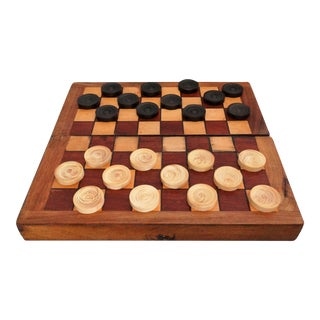 English Chess Checkers Backgammon Game