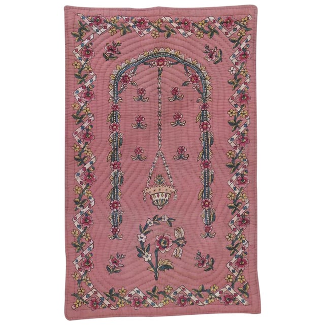 Quilted Prayer Rug For Sale