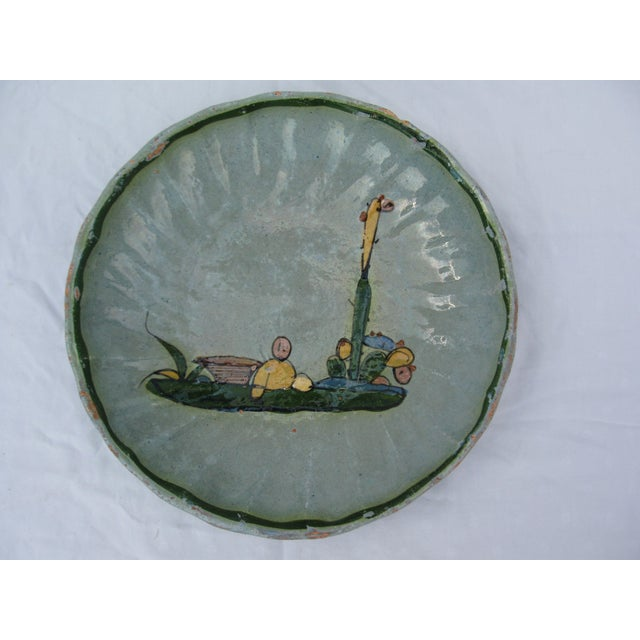 Hand Painted Mexican Plate - Image 2 of 7
