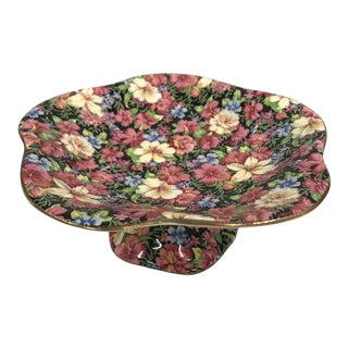 """Vintage Royal Winton """"Florence"""" Compote Dish For Sale"""