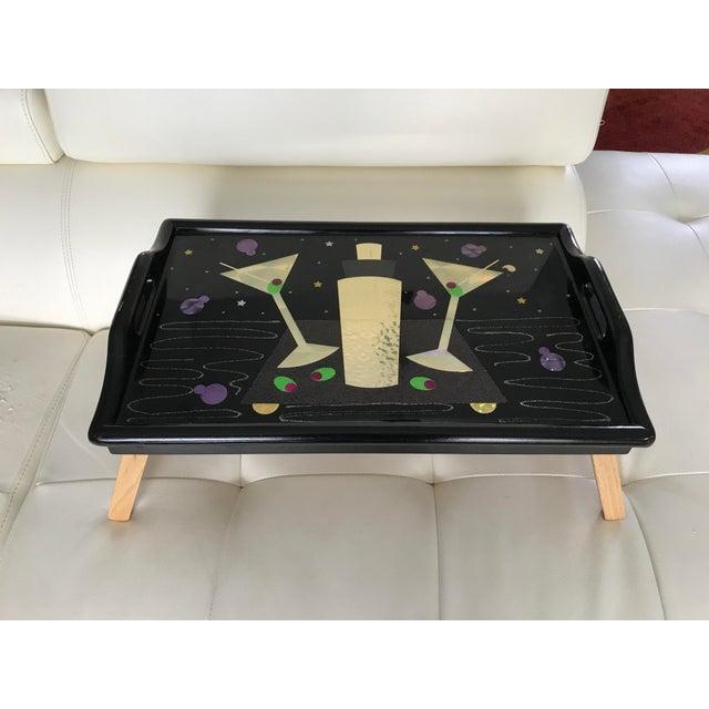 Vintage Martini Breakfast Tray - Image 2 of 7