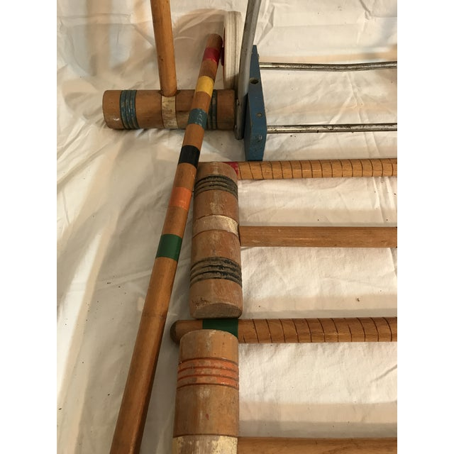 1950's Croquet Game Set For Sale - Image 10 of 11