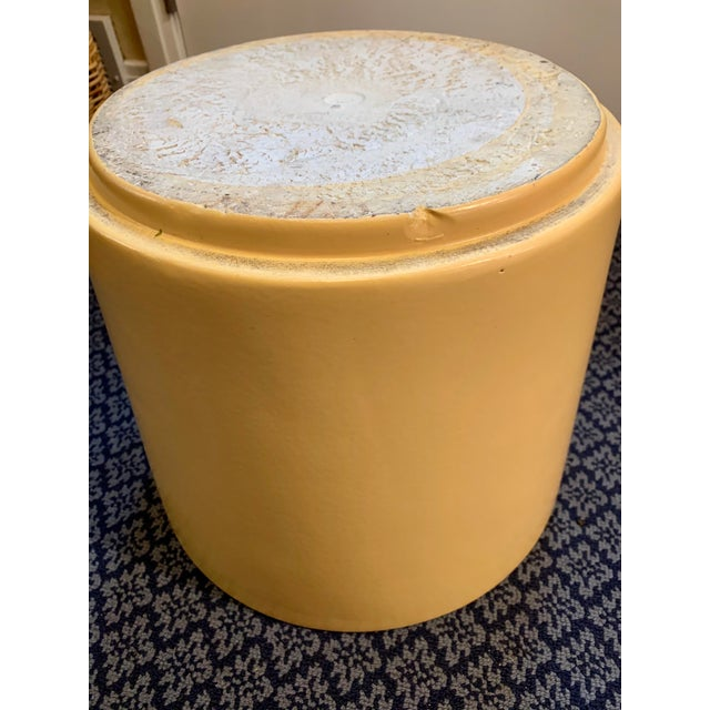 Mid-Century Gainey Style Pottery Planter For Sale - Image 9 of 10