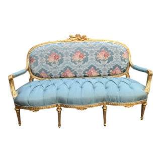 Vintage 1900's French Louis XVI Sofa For Sale