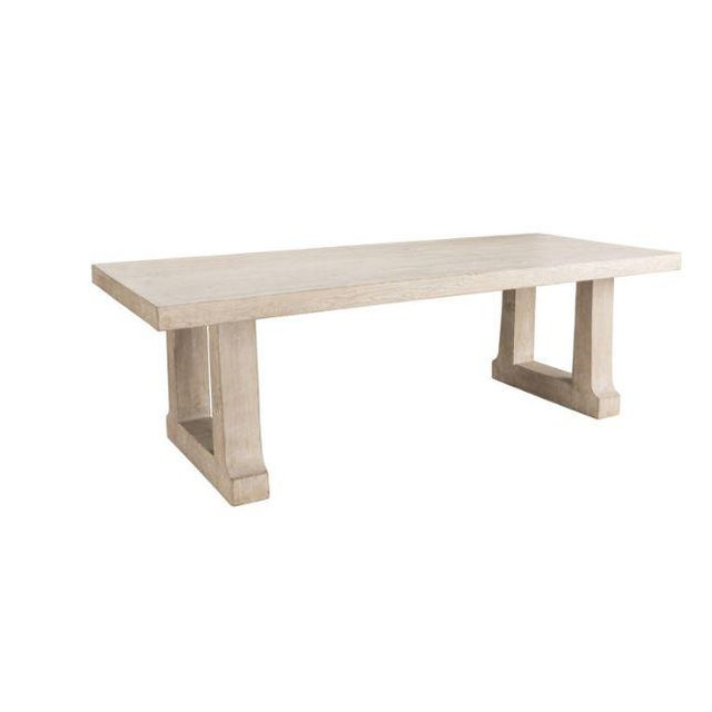 """Palmer 94"""" Dining Table For Sale In Chicago - Image 6 of 6"""