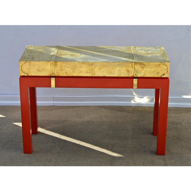 Brass Campaign Style Console - Image 4 of 11