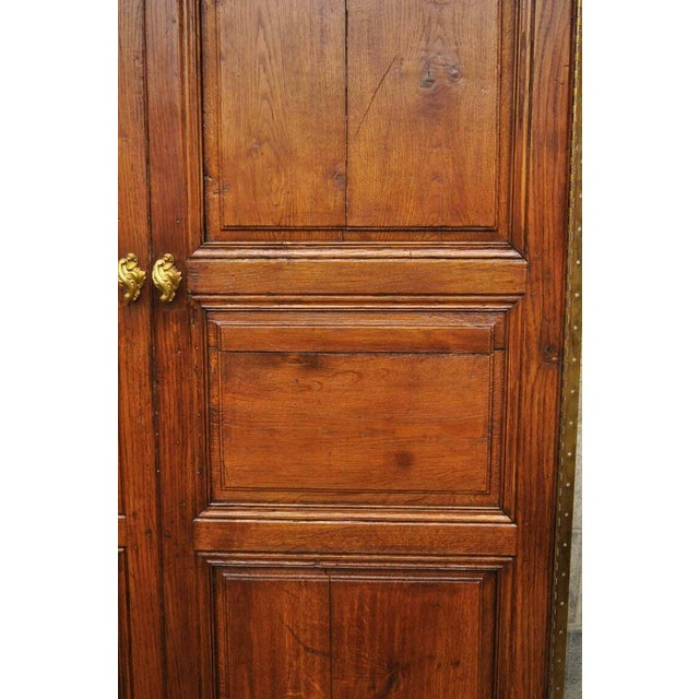 19th Century French Louis XVI Oak Interior Double Doors - Set of 2 For Sale - Image 11 of 13