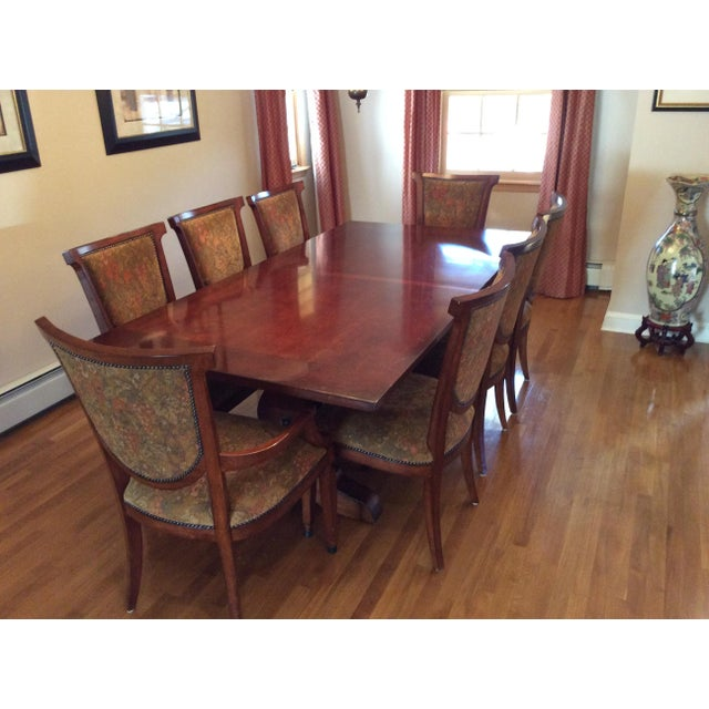 Bernhardt Dining Table and 8 Chairs - Image 2 of 8
