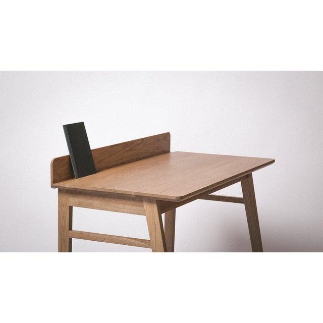 Solid White Oak Desk - Image 3 of 5