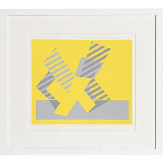 Josef Albers - Portfolio 1, Folder 4, Image 1 Framed Silkscreen For Sale