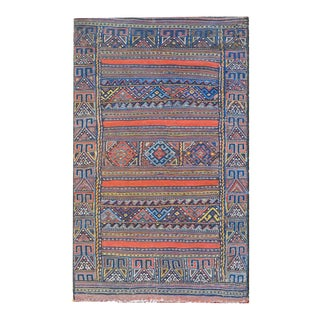 Early 20th Century Afshar Grain Bag For Sale