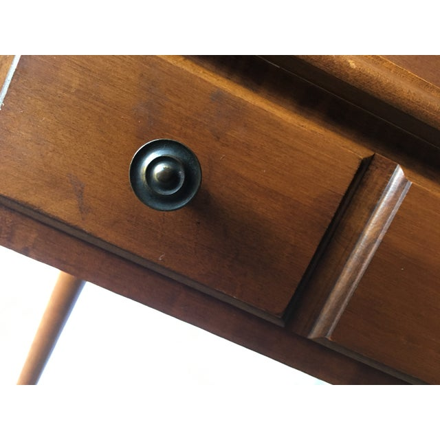 Early American Tell City Chair Company Roll-Top Secretary Desk For Sale - Image 9 of 13