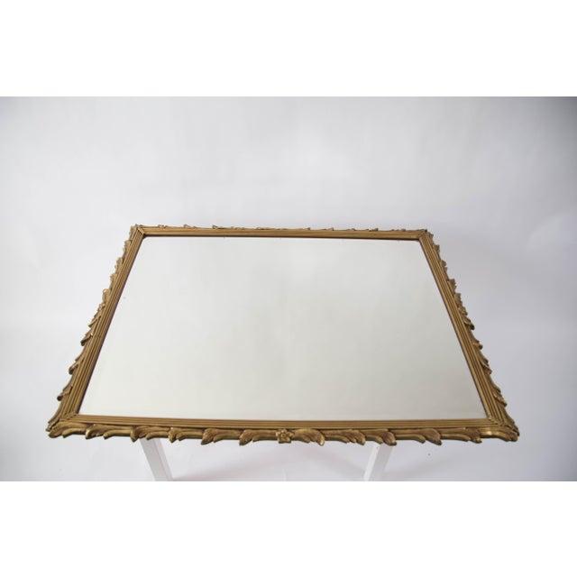 Antique Art Noveau Mirror - Image 9 of 9