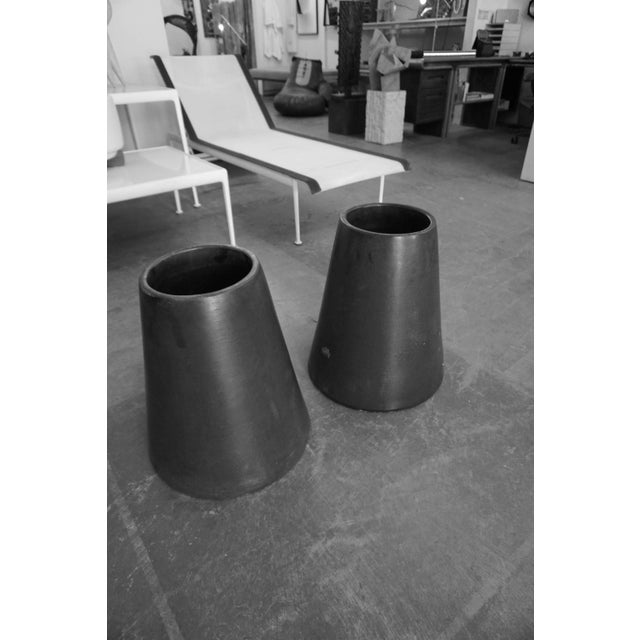 Black Architectural Pottery by Lagardo Tackett For Sale - Image 8 of 8