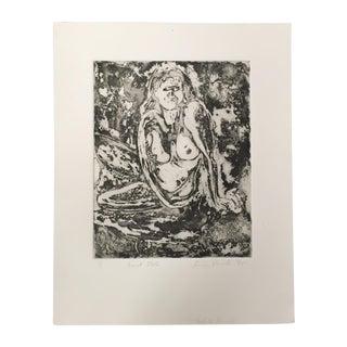 Linda Pericolo Block Print For Sale
