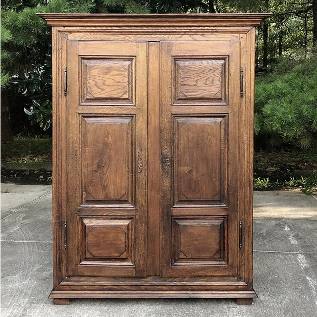 Early 19th Century Early 19th Century Country French Armoire For Sale - Image 5 of 13
