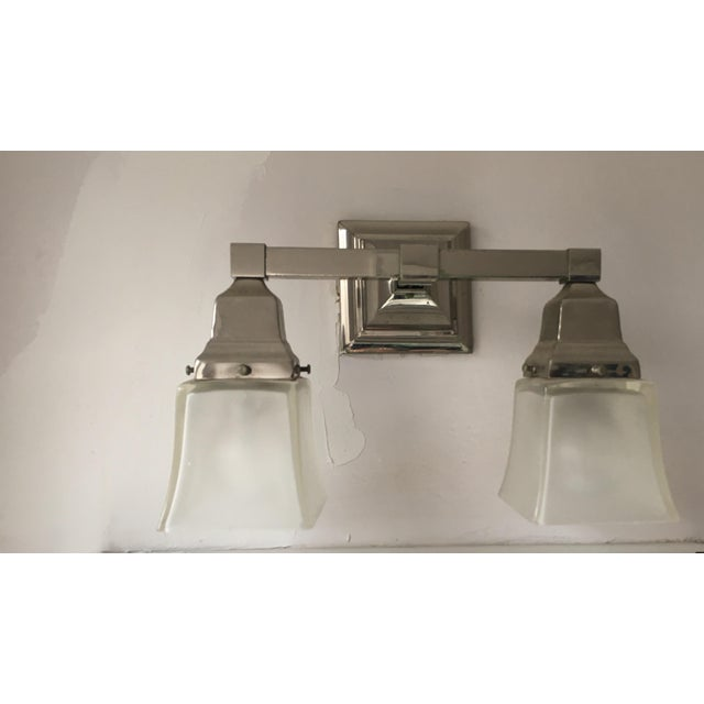 Love the classic look of this Urban Archeology Town double shade sconce. Had it for years in my bathroom but am remodeling...