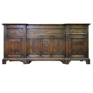 1930's Renaissance Revival Oak Sideboard