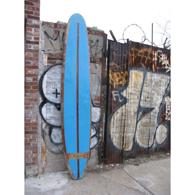 60s 10' Duke Kahanamoku Blue Surfboard - Image 4 of 5