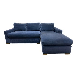 Restoration Hardware Maxwell Petite Sectional For Sale
