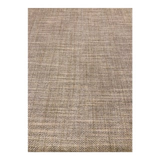Schumacher Morrow - Stone Designer Transitional Woven Upholstery Fabric - 19.5 Yards For Sale