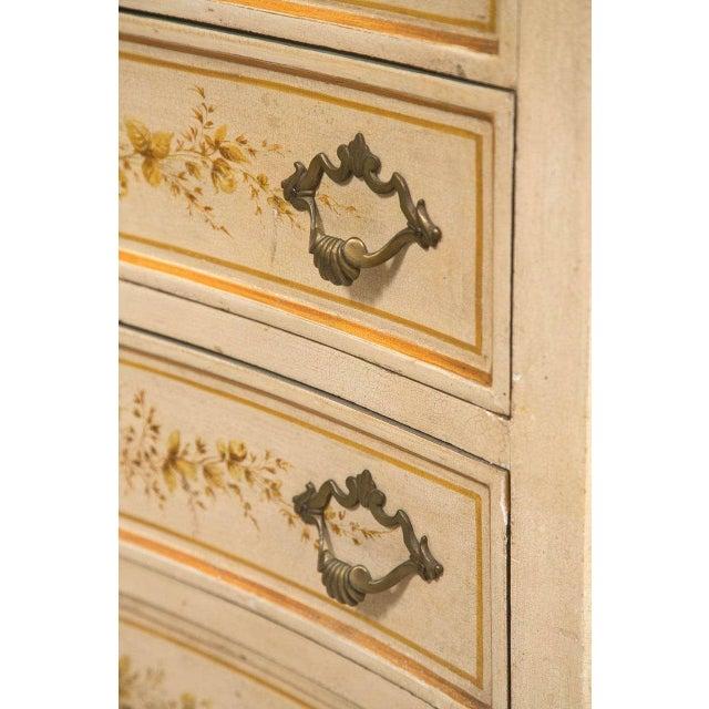 Italian Painted Secretary Desk For Sale - Image 5 of 10
