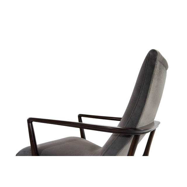 Contour Lounge Chairs, Attr. To Vladimir Kagan For Sale - Image 9 of 12