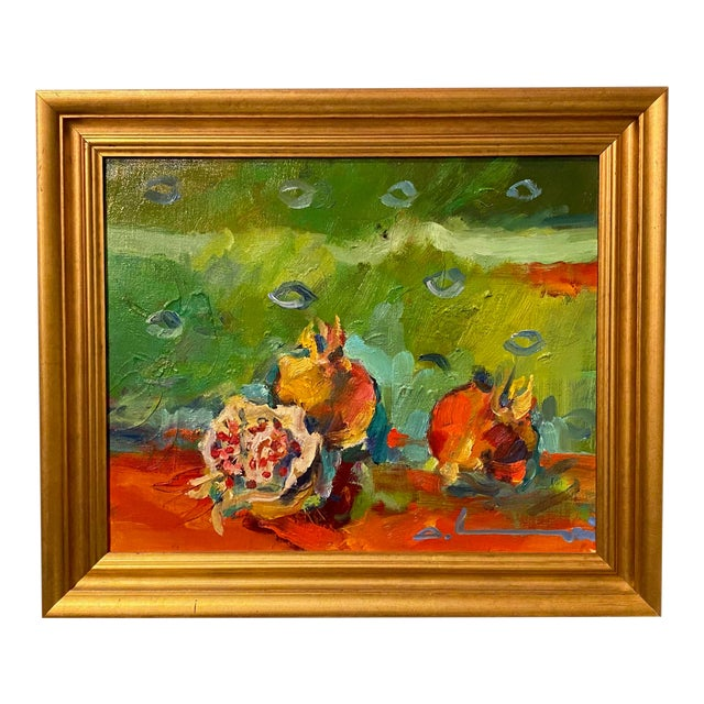 """French Impressionist Painting by Adrien Moroni, """"Fruits de Grenade"""" For Sale"""