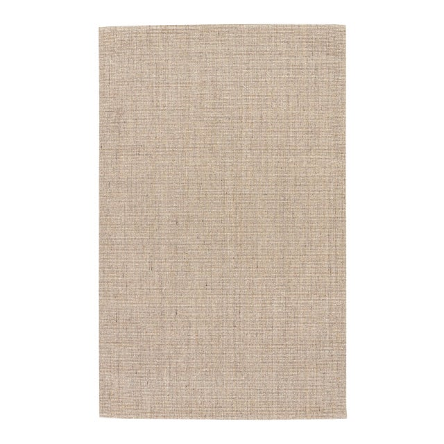 Jaipur Living Daytona Natural Cream/ Gray Area Rug - 9′6″ × 13′6″ For Sale