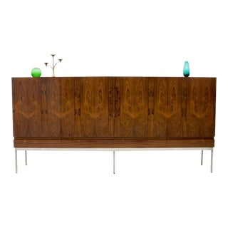 Rosewood Sideboard by Dieter Waeckerlin for Behr, 1958 For Sale