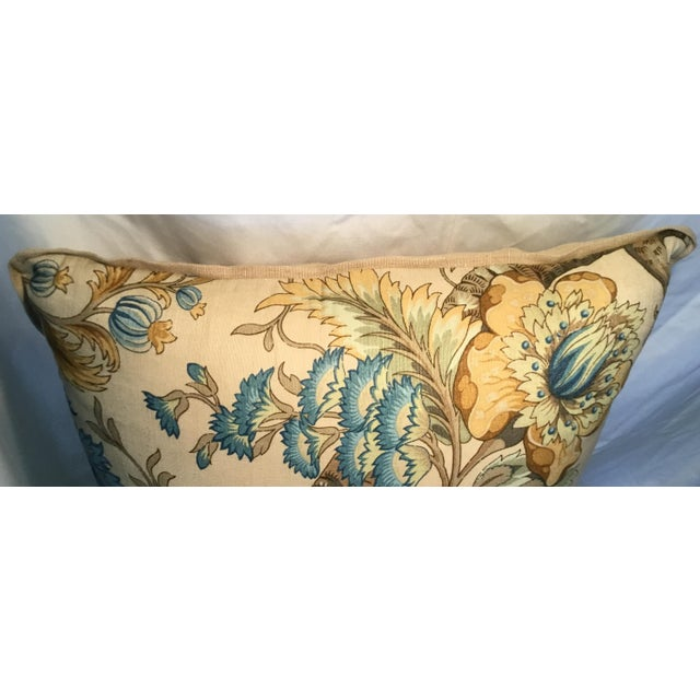Gold Ralph Lauren Pillow - Tree of Life Design - Pair Available For Sale - Image 7 of 13