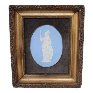 Wedgwood Jasperware Plaque of Minerva Collage For Sale