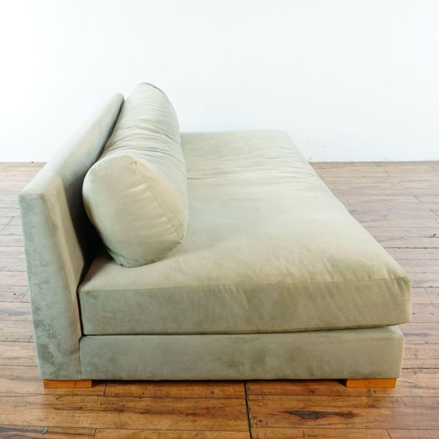 CB2 CB2 Piazza Storm Upholstered Sofa For Sale - Image 4 of 7