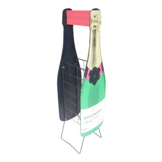Bollinger Champagne Wine Rack For Sale