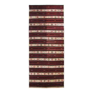MidCentury Stripe Turkish Kilim | 5 X 12'3 For Sale