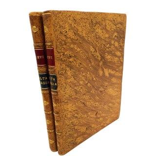 Antiquarian Book-Dogma Y Ritual De La Alta Magia By Eliphas Levi-Late 19th C.-2 Vol.