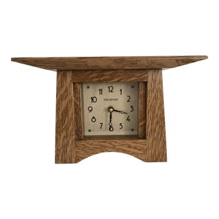 Craftsman Mantle Clock For Sale