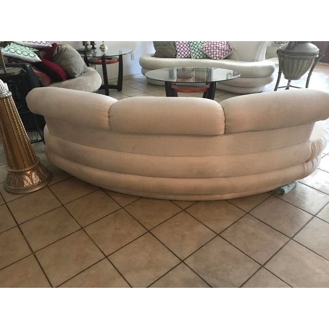 Vladimir Kagan Adrian Pearsall for Comfort Designs Curved Kidney Sofa For Sale - Image 4 of 6