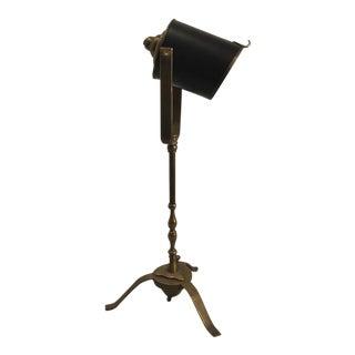 Miniature Directors Lamp, as a Table Lamp