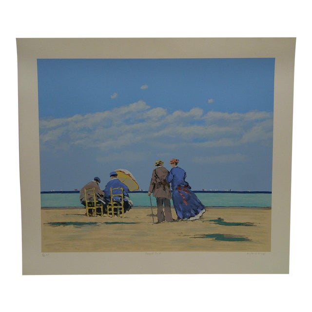 """Frederick McDuff Limited Edition """"Emerald Coast"""" Artists Proof Print For Sale"""
