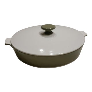 1970s Corning Ware Lidded Casserole Pan For Sale