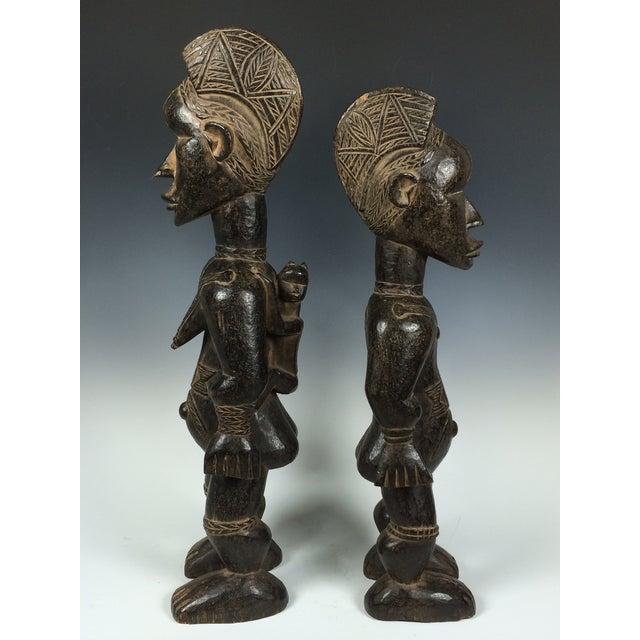 Ivory Coast African Dan Statues - A Par - Image 9 of 11