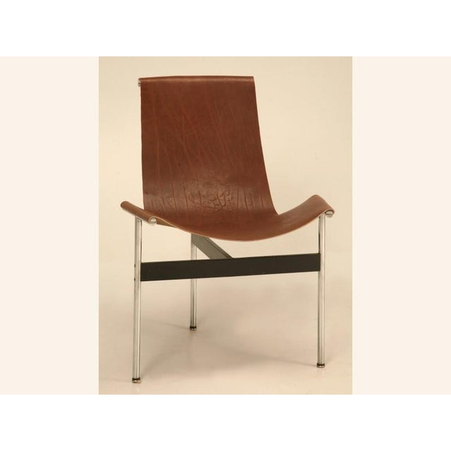 """Original Vintage """"T"""" Chair by Katavolos, Kelly & Littell for Laverne International - Image 2 of 11"""
