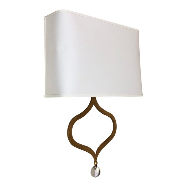 Visual Comfort Heart Wall Sconce in Gilded Iron For Sale